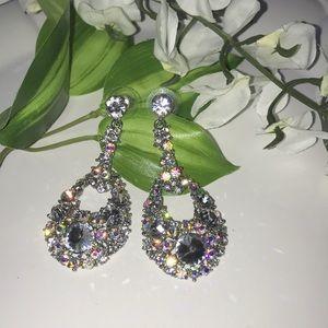 Beautiful pageant earrings